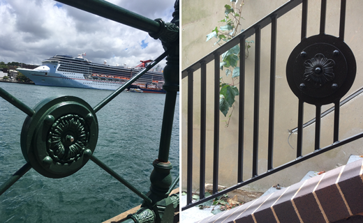 WSM CIRCULAR QUAY EMBLEM REPLICATED